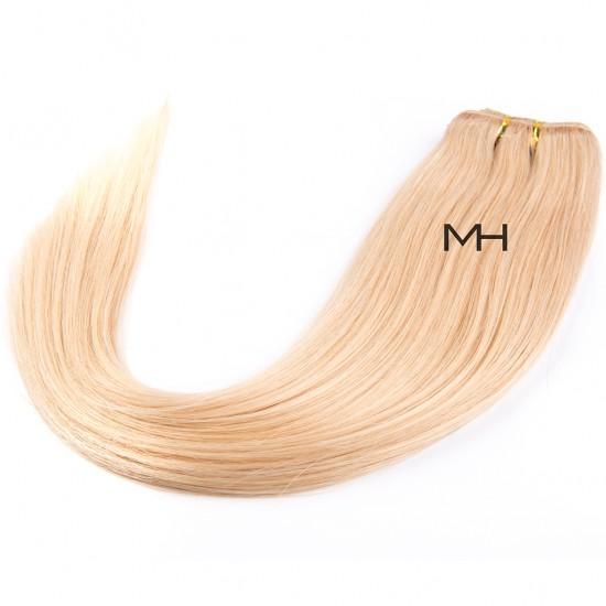 55см Естествена коса Руса №16