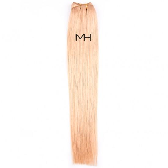 55см Тъмно руса естествена коса №27