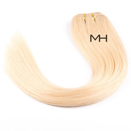 55см Естествена коса Светло руса №613