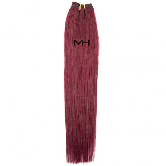 55см Естествена Лилава коса №99J