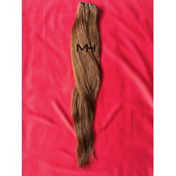 Реми коса 65см - Кестенява №06