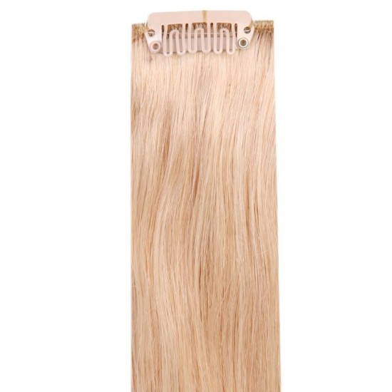 Коса на клипси - Руса №22