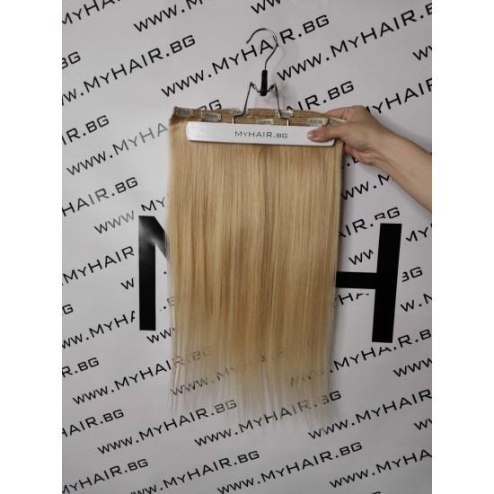 Коса на клипси - Руса №20