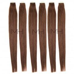 Светло кестенява коса на стикери №04