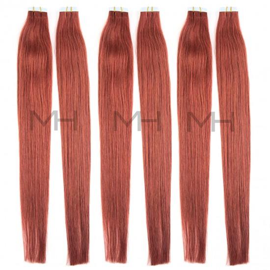 Червена коса на стикери №33